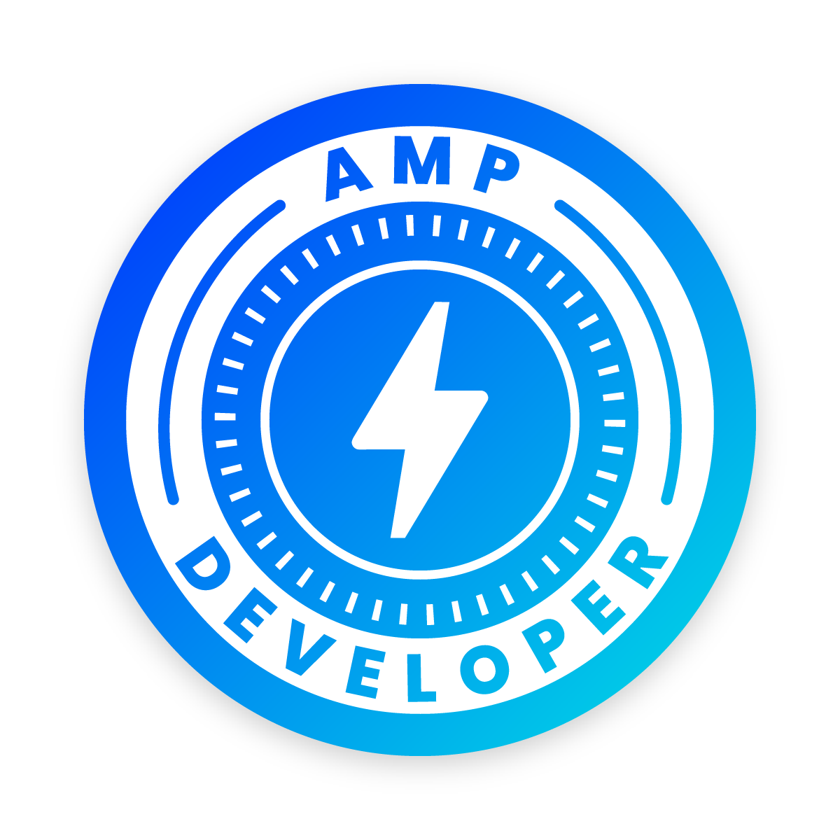 Your AMP Developer badge