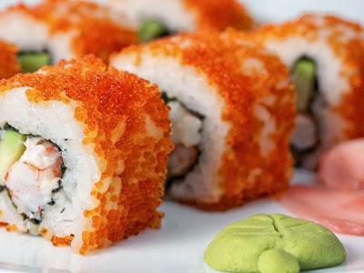 Photo of savory sushi